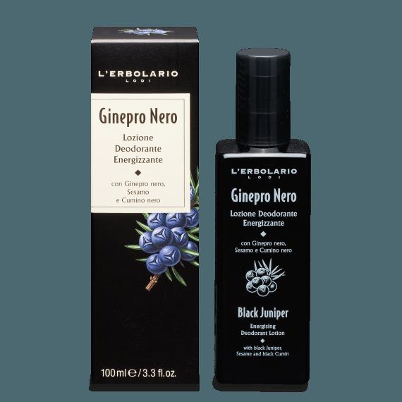 Ginepro Nero Lozione Deodorante Energizzante