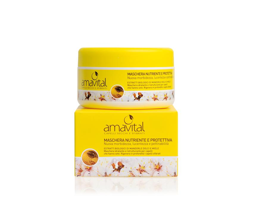 amavital maschera nutriente protettiva