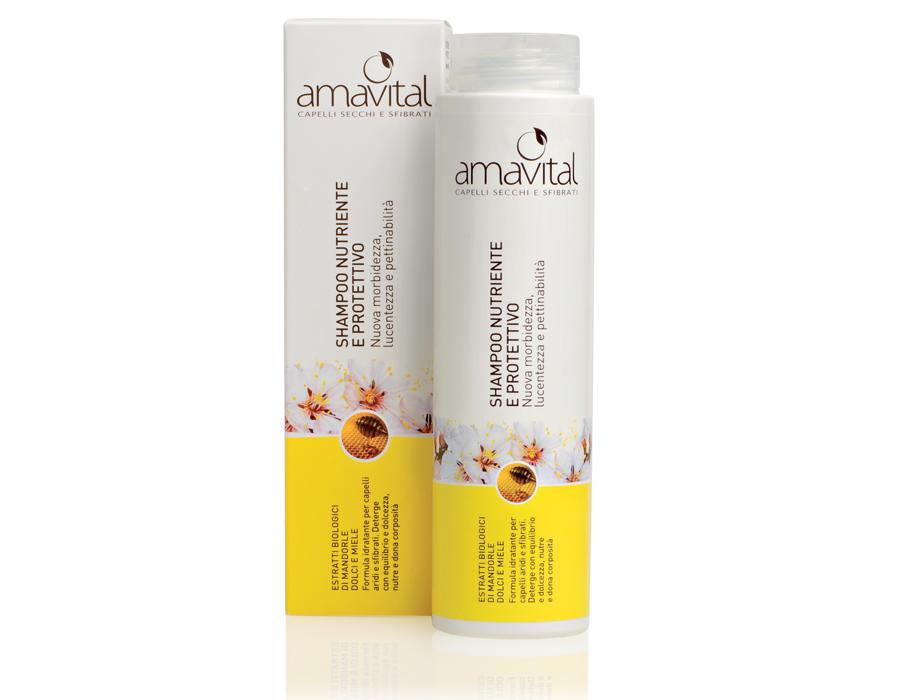 amavital shampoo nutriente protettivo