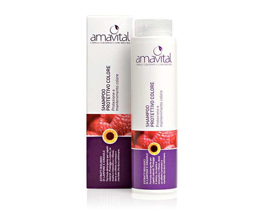 amavital shampoo protettivo colore