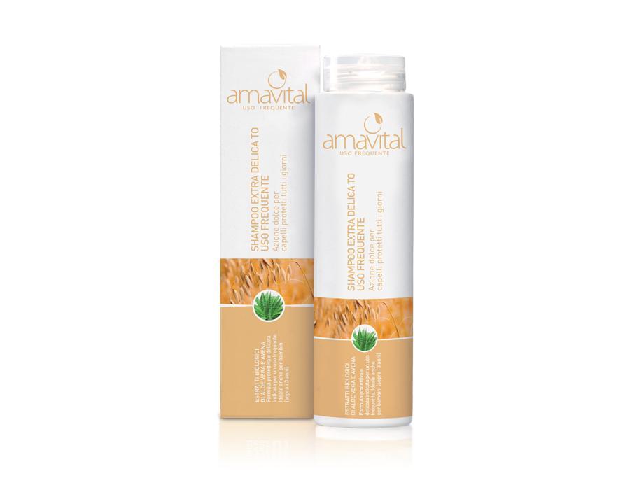 amavital shampoo uso frequente