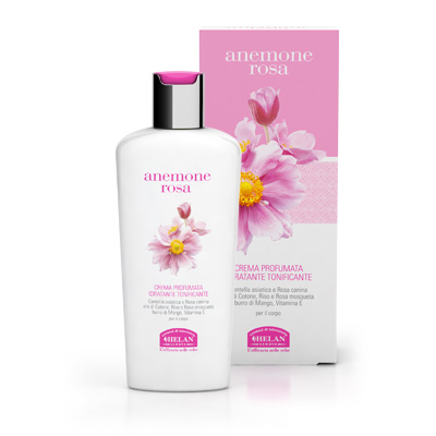anemone rosa crema profumata idratante