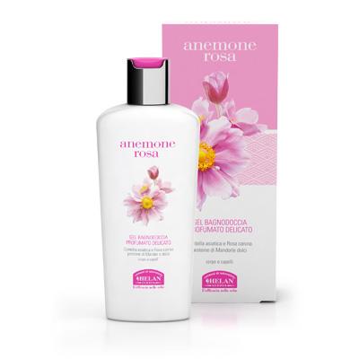 anemone rosa gel bagnodoccia profumato