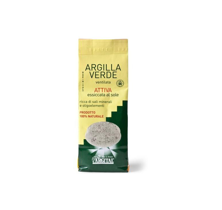 argilla verde ventilata attiva 500gr