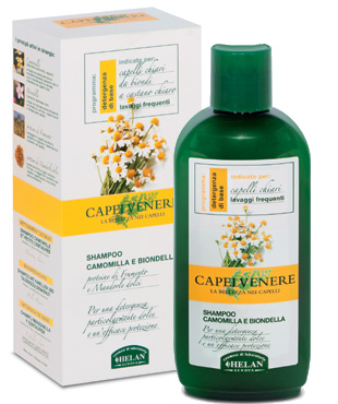 capelvenere shampoo camomilla e biondella