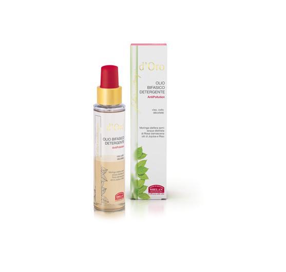 elisir antitempo d'oro olio bifasico antipollution