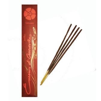 encens d'auroville incenso cinnamon