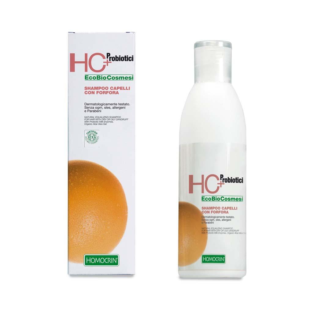 hc+ shampoo capelli con forfora