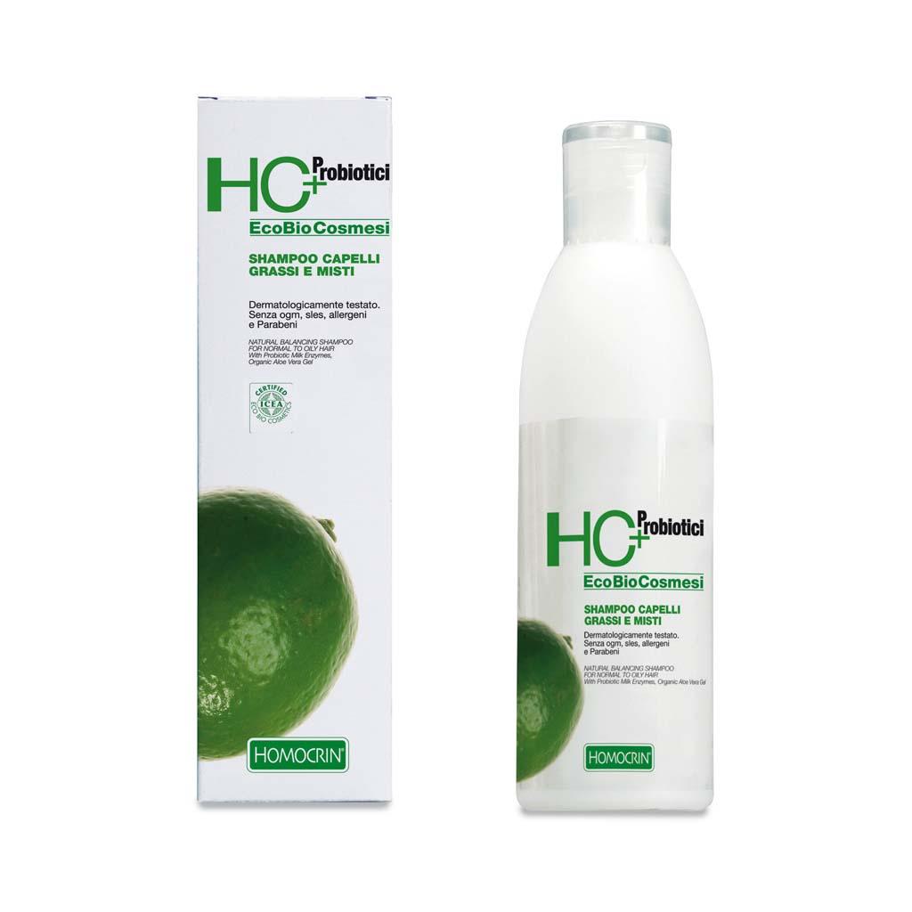 hc+ shampoo capelli grassi e misti