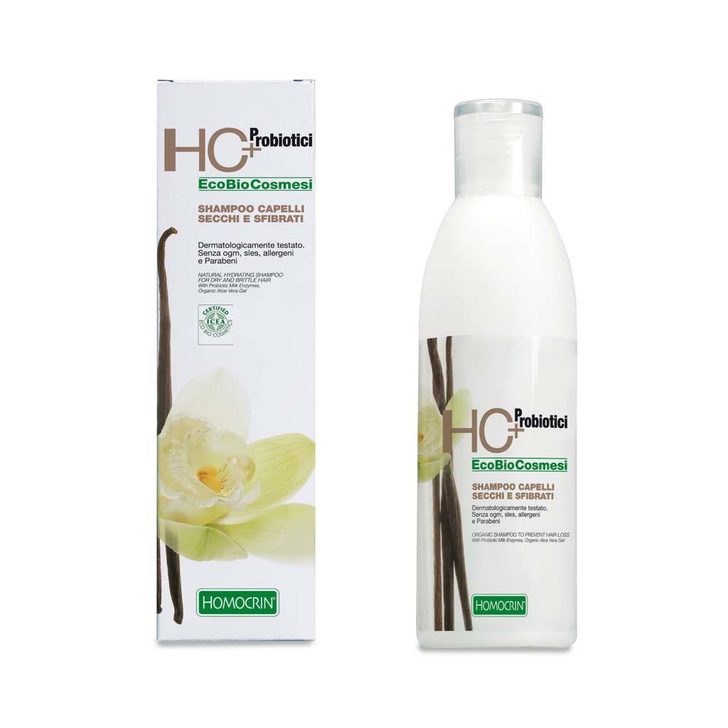 hc+ shampoo capelli secchi e sfibrati