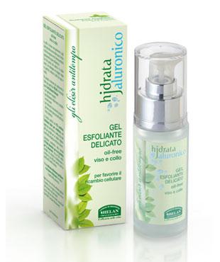 hjdrata jaluronico gel esfoliante delicato