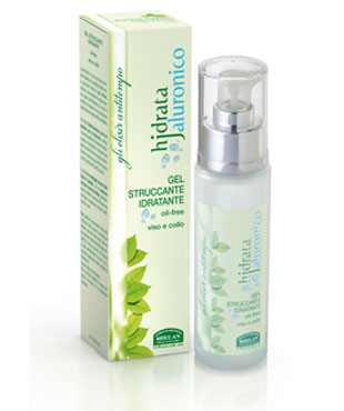 hjdrata jaluronico gel struccante idratante