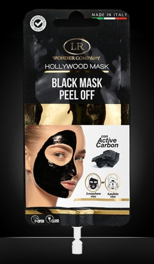 hollywood black mask peel-off