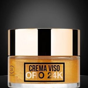 hollywood gold crema viso 24k