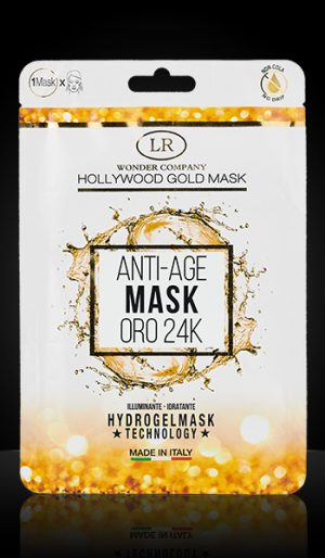 hollywood gold mask 24k