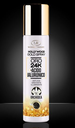 hollywood gold spray 24k