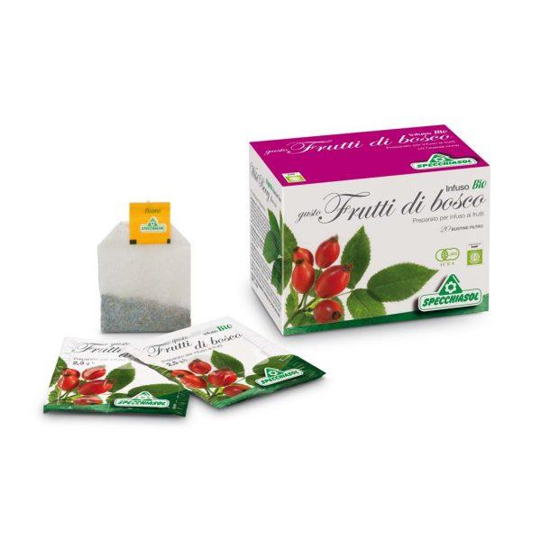 infuso bio gusto frutti di bosco filtri