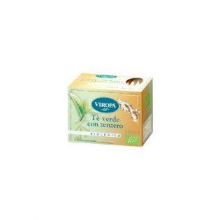 infuso tè verde e zenzero bio