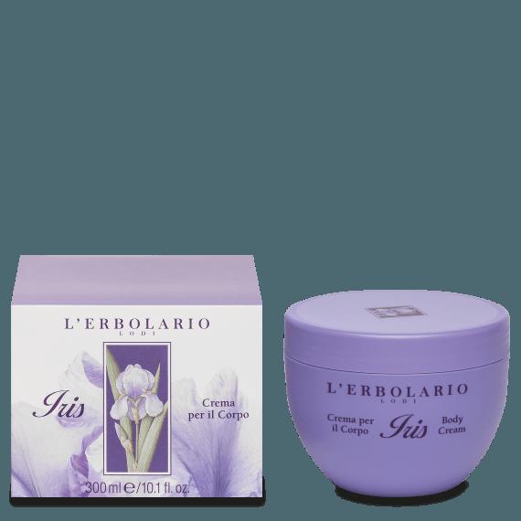 iris crema corpo