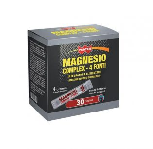 magnesio complex 4 fonti bustine