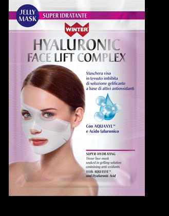 maschera viso super idratante