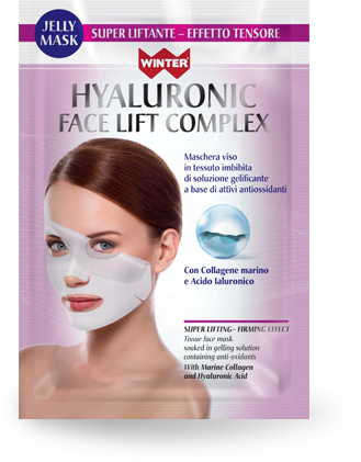 maschera viso super liftante effetto tensore