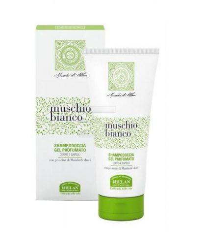 muschio bianco shampoodoccia gel profumato