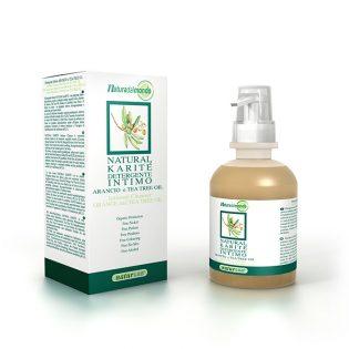 natural karitè detergente intimo