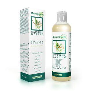 natural karitè doccia shampoo