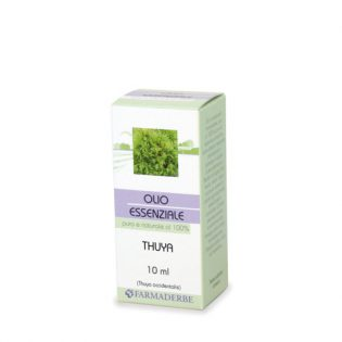 olio essenziale thuya