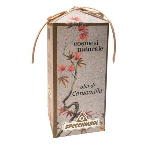 olio vegetale cosmetico camomilla