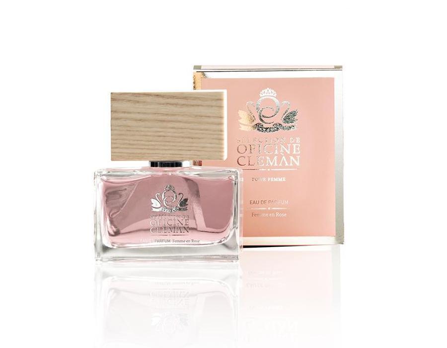 sélection femme en rose eau de parfum
