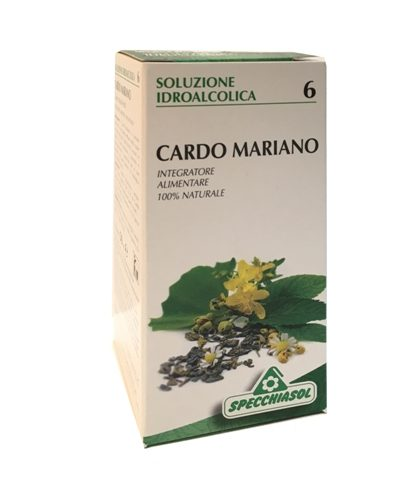 soluzione idroalcolica 6 cardo mariano