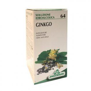 soluzione idroalcolica 64 ginkgo