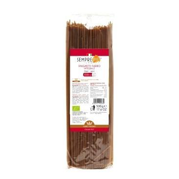 spaghetti di farro integrale bio