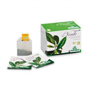 tè verde bio filtri