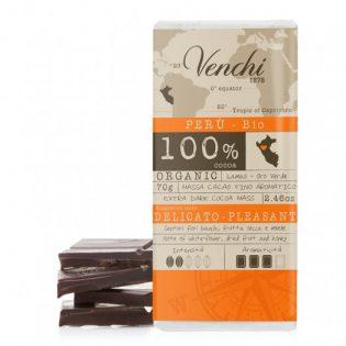 tavoletta di cioccolato extra fondente 100% perù