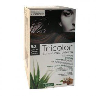 tricolor tinta capelli castano chiaro dorato 5/3