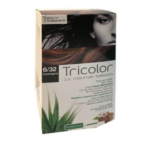 tricolor tinta capelli castagna 6/32