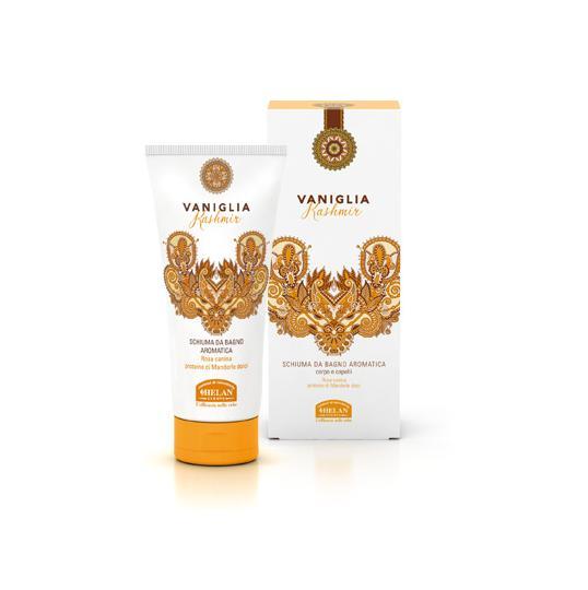 vaniglia kashmir schiuma da bagno aromatica