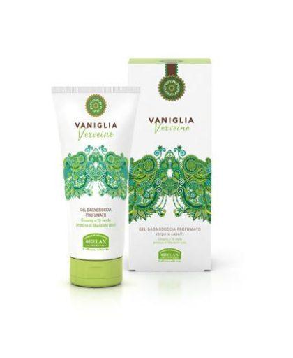 vaniglia verveine gel bagnodoccia profumato