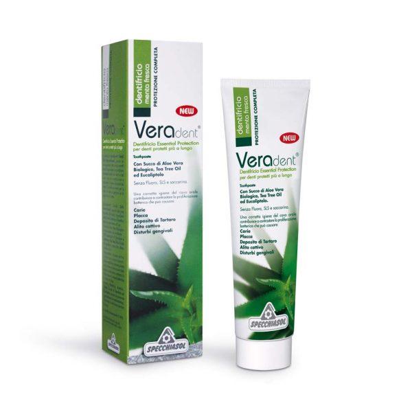 veradent essential protection dentifricio