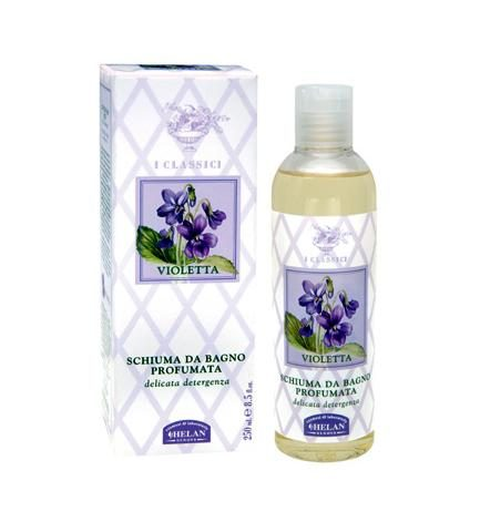violetta schiuma da bagno profumata